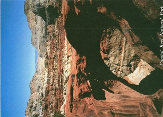 26X Postcard of Cassidy Arch Capitol Reef National Park