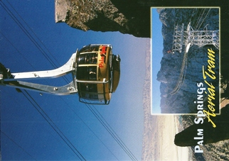 22x Postcard of Palm Springs Aerial Tramway