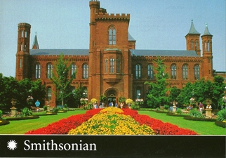 23x Postcard Of The Smithsonian Institution Building