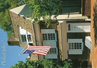 26x Postcard of Betsy Ross House PHILADELPHIA