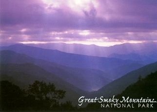 25x The Appalachian Mountain Range GREAT SMOKY MOUNTAINS NATIONA