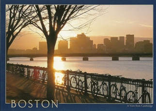 29x Postcard Of BOSTON A View from Cambridge