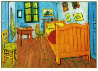 24 (2 Dozen OF The Same Design) Postcard the bedroom By Vincent