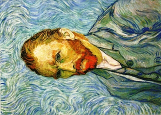 Postcard Self-Portrait Vincent van Gogh