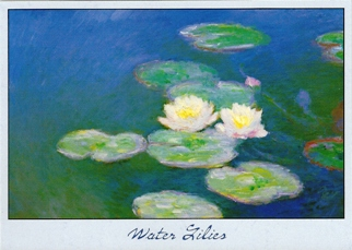 24 (2 Dozen OF The Same Design) Postcard Of Water Lilies By Clau
