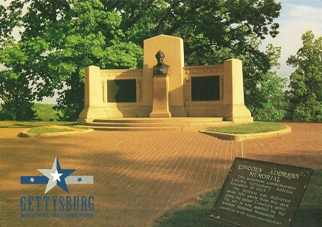 Postcard Lincoln Address Memorial NATIONAL MILITARY PARK GETTYSB