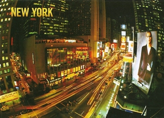 22x Postcard of Times Square NEW YORK