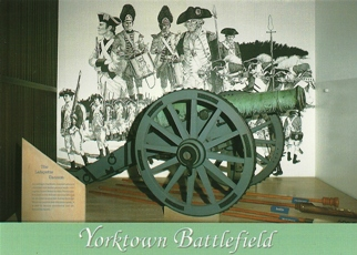 30x Postcard of LAFAYETTE CANNON COLONIAL NATIONAL HISTORICAL PA