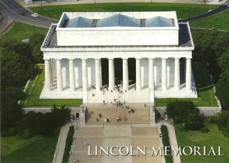 24x POSTCARD OF LINCOLN MEMORIAL