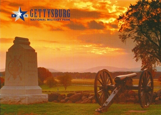 "29x Postcard This confined area known as ""The Angle"" GETTYSBURG"