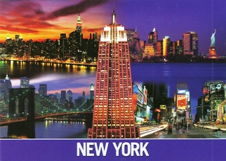 25x Postcard of NEW YORK