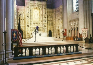 23x Postcard of the High Altar Washington National Cathedral