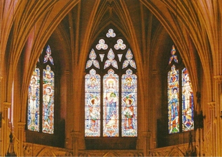 26x Postcard Stained Glass Windows in Washington National Cathed