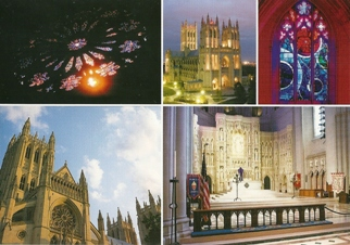 18x Postcard Of Washington National Cathedral