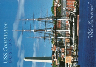 20x Postcard Of USS Constitution, Boston.