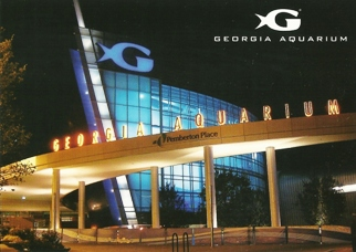 28X Postcard Of GEORGIA AQUARIUM Atlanta, Georgia