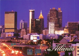 20x Postcard Of ATLANTA Georgia