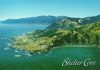 25x Postcard of Shelter Cove