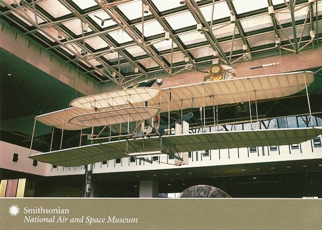 25x Postcard 1903 Wright Flyer National Air and Space Museum