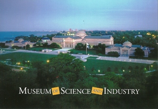 15x Postcard Museum of Science and Industry