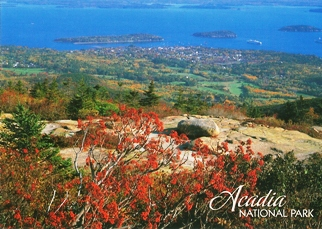32x Postcard of Acadia National Park