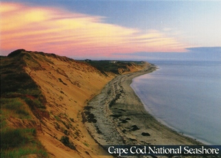 41x Postcard of Seashore's beaches CAPE COD NATIONAL SEASHORE