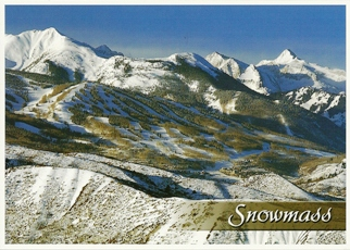 20x Postcard of Snowmass, Colorado