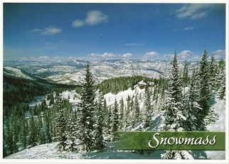 37x Postcard ofSnowmass, Colorado