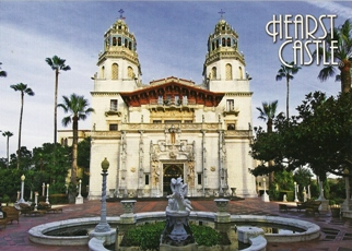 24x Postcard Of Casa Grande Hearst Castle