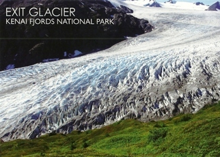 32x Postcard Of Exit Glacier, Kenai Fjords National Park