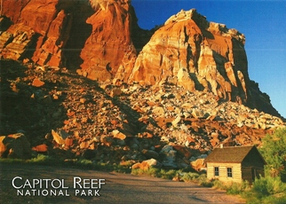 19x Postcard Of Capitol Reef National Park (Slightly Damaged)