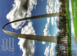 33x Postcard Of Jefferson National Expansion Memorial, Saint Lou