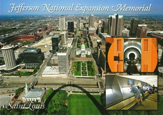 26x Postcard Of Jefferson National Expansion Memorial, Saint Lou