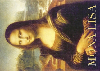 12 (1 Dozen OF The Same Design) Mona Lisa