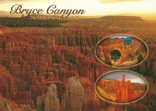 25x Postcard Of Bryce Canyon National Park