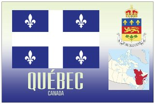 Postcard of QUEBEC- Canada