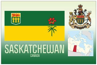 12 (1 Dozen OF The Same Design) Postcard of SASKATCHEWAN- Canada