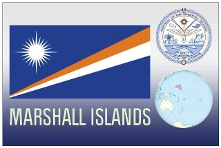 12 (1 Dozen OF The Same Design) Postcard of MARSHALL ISLANDS