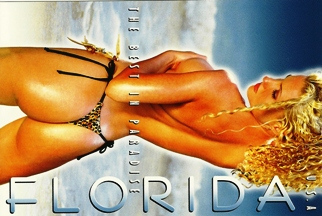 10x Postcard  THE BEST IN PARADISE FLORIDA USA.