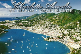 Postcard Charlotte Amalie St Thomas United States Virgin Islands