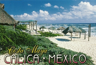 19x Postcard Of Costa Maya CALICA - MEXICO