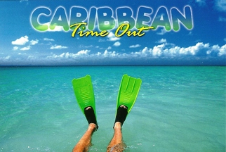 12 (1 Dozen OF The Same Design) Postcard Of Caribbean Time Out