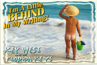 Postcard I'm A Little BEHIND In My Writing! Key West And The Flo
