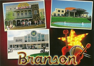 11X POSTCARD OF BRANSON MISSOURI