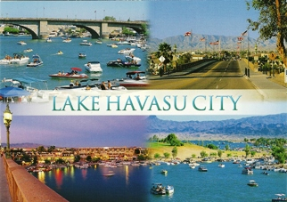 POSTCARD LAKE HAVASU CITY ARIZONA