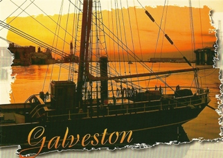 10x Postcard of Galveston Texas