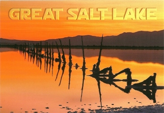 10X POSTCARD OF SALT LAKE CITY Utah