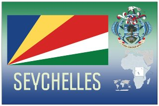12 (1 Dozen OF The Same Design) Postcard of SEYCHELLES