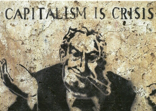 POSTCARD CAPITALISM IS CRISIS