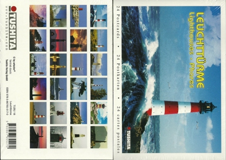 A Book of 24 Postcards Of LIGHTHOUSES